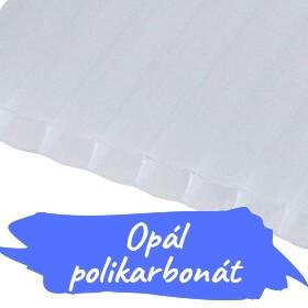 Opál üregkamrás polikarbonátok