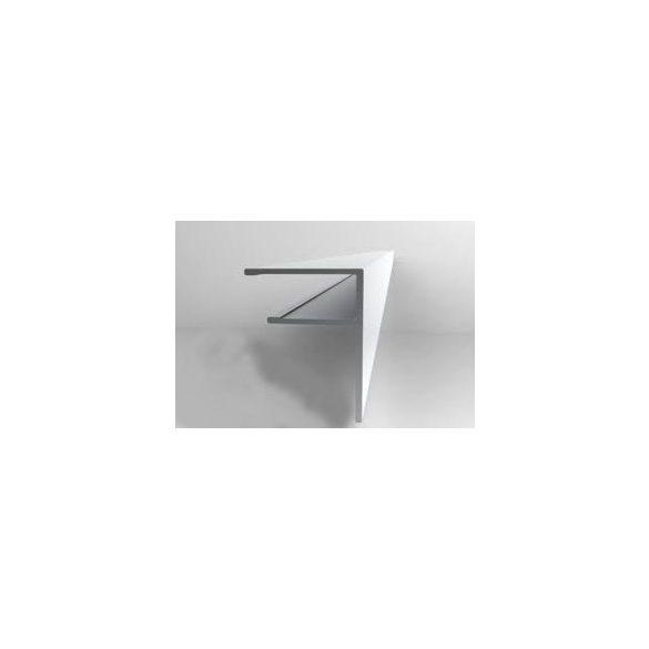 F profil 10mm polikarbonáthoz 600cm