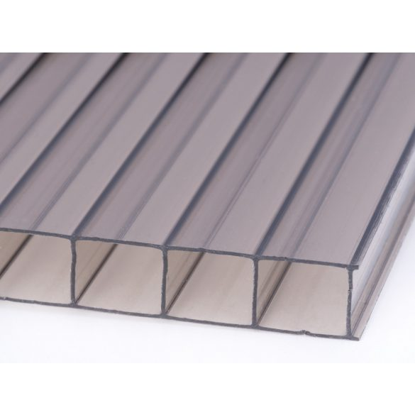 Bronz Standard Polikarbonát 10mm (100x100cm)