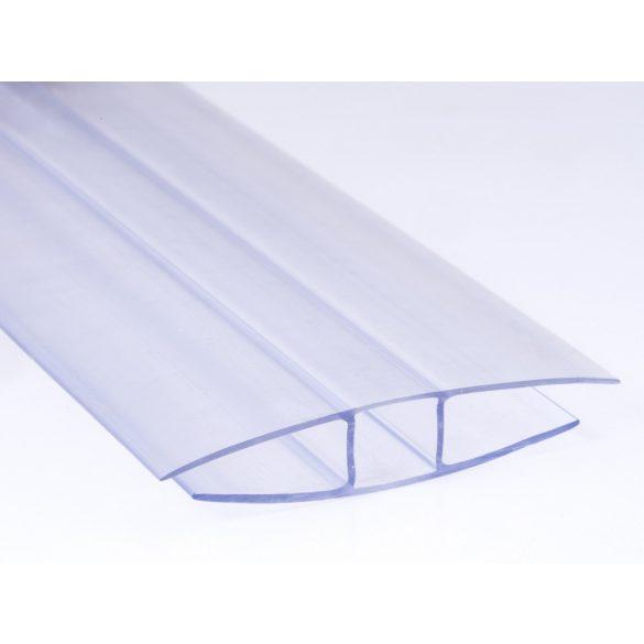 Polikarbonát H -toldó profil 10mm 100cm-es