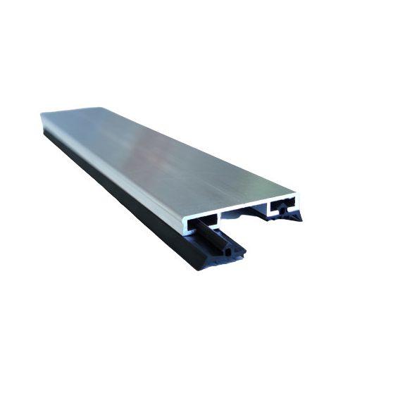 Alumínium leszorító profil + EPDM gumi