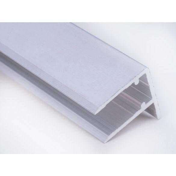 Alu vízorros profil 10mm vastag polikarbonáthoz 317cm-es