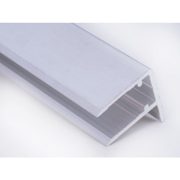 Alu vízorros profil 10mm vastag polikarbonáthoz 635cm-es