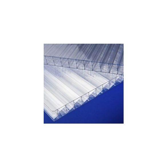 Alu vízorros profil 10mm vastag polikarbonáthoz