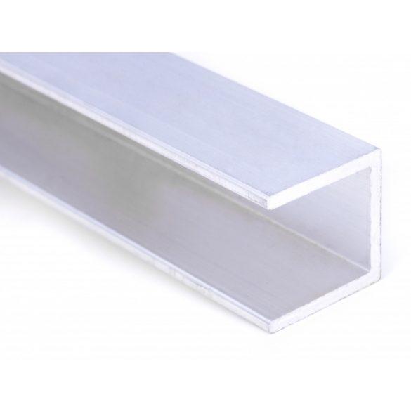 Alu U -profil 16mm polikarbonát lemezhez 300cm-es
