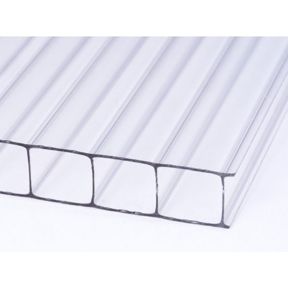 Víztiszta Standard Polikarbonát 10mm 1,7 kg/m2 bruttó 3990Ft/m2