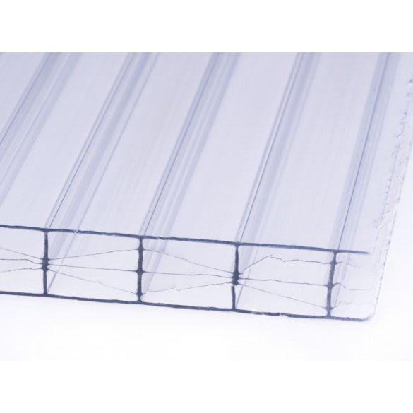 Víztiszta PRÉMIUM X-struktúrás Polikarbonát 10mm  (210x100cm)